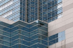 Vierkante vensters stock fotografie