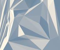 Vierkante witte abstracte achtergrond Royalty-vrije Stock Afbeelding