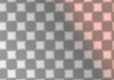 Vierkante zwart-witte patroonachtergrond Stock Afbeelding