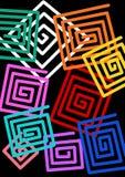 Vierkanten Stock Afbeelding