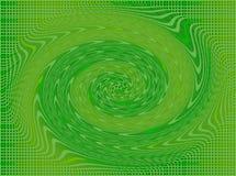Vierkanten en windas in groen en geel Royalty-vrije Stock Foto's