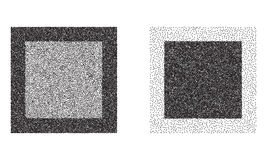 Vierkanten vectorachtergronden Stock Afbeelding