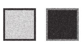 Vierkanten vectorachtergronden Royalty-vrije Stock Afbeeldingen