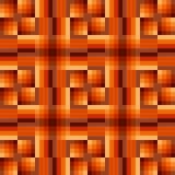 Vierkanten in zwarte, room en bruin vector illustratie