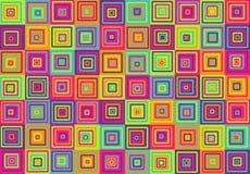 Vierkantenpatroon Royalty-vrije Stock Foto