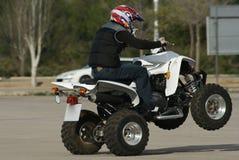 Vierling wheelie Royalty-vrije Stock Foto