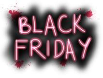 Viernes negro, cartel estupendo del negocio del extracto de la calidad Fotografía de archivo libre de regalías
