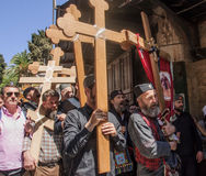 Viernes Santo en Jerusalén Fotografía de archivo libre de regalías