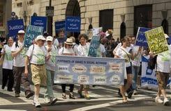 2015 viert New York Israel Parade Stock Foto
