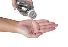 Vierta el agua para dar foto de archivo libre de regalías