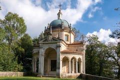 Vierte Kapelle bei Sacro Monte di Varese Italien Lizenzfreie Stockfotografie