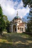 Vierte Kapelle bei Sacro Monte di Varese Italien Lizenzfreies Stockfoto