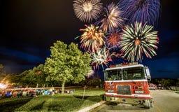 Vierte oÆ'Juli-Feiern Lizenzfreie Stockfotografie