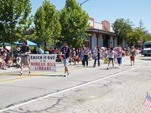 Viertel der Juli-Parade Stockbild