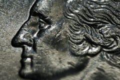 Vierteldollar Stockbild