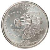 Vierteldollarmünze Lizenzfreie Stockbilder