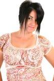 Vierzig Einjahresfrau lizenzfreie stockbilder