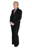 Vierzig Einjahresgeschäftsfrau lizenzfreies stockfoto