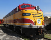 Vierzigerjahre elektrische Diesellokomotive Lizenzfreie Stockbilder