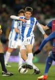 Vies van Mikel Gonzalez met Leeuw Messi Stock Afbeeldingen