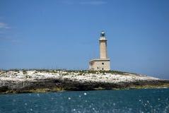 vieste маяка Италии Стоковые Изображения RF