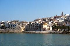 Vieste (Apulia, Gargano,Italy) at summer Royalty Free Stock Photos