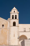 Vieste, the church tower of St francis Royalty Free Stock Photos