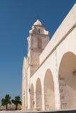 Vieste, de kerktoren van St Francis Stock Foto's