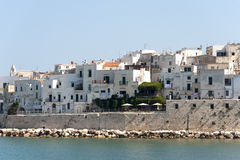 Vieste (Foggia, Gargano, Apulia, Italy) at summer Royalty Free Stock Photo