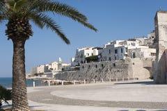Vieste (Gargano, Puglia, Italia) ad estate Fotografia Stock
