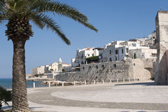Vieste (Gargano, Puglia, Italy) at summer Stock Photography