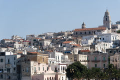 Vieste (Gargano, Puglia, Italy) at summer Royalty Free Stock Photography