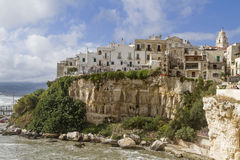 Vieste in Gargano Stock Photo