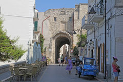 Vieste gate Stock Images
