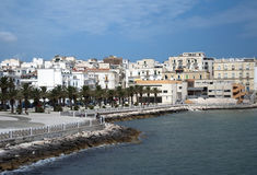 Vieste - Italy Royalty Free Stock Images