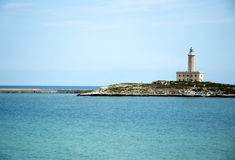 Vieste - Italy - the lighthouse Royalty Free Stock Photos