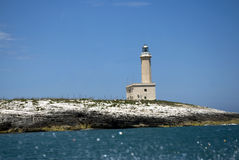 Vieste - Italy - the lighthouse Royalty Free Stock Images