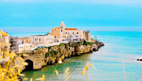 Vieste landscape stock photography