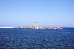 Vieste latarnia morska Zdjęcie Royalty Free