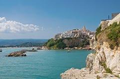 Vieste. Puglia. Italia. Imagenes de archivo
