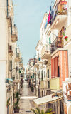 Vieste town, Apulia, Italy Stock Image