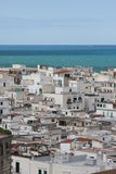 Vieste view. Vieste old town in Gargano peninsula Italy Royalty Free Stock Photo