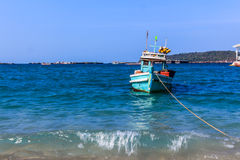 viet för nam för strandfartygdanang fiske Royaltyfria Foton