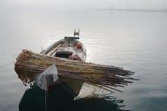 viet för nam för strandfartygdanang fiske Arkivfoto