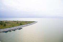 viet för nam för strandfartygdanang fiske Arkivfoton