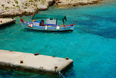 viet för nam för strandfartygdanang fiske Royaltyfri Bild