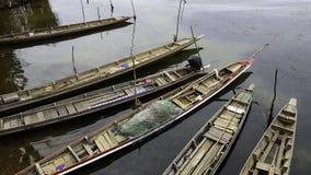 viet nam рыболовства danang шлюпки пляжа Стоковая Фотография