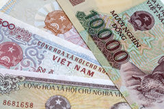 Viet Nam Currency Stock Image