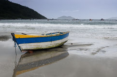 viet nam рыболовства danang шлюпки пляжа Стоковое Изображение
