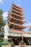 Viet Nam Quac Tu Pagoda temple Ho Chi Minh City Saigon Vietnam Stock Photo